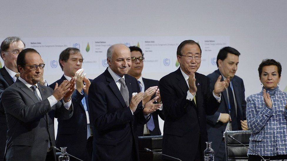 What is in the Paris climate agreement?