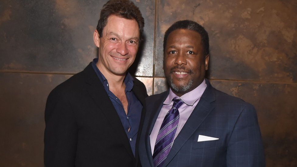 Dominic West and Wendell Pierce