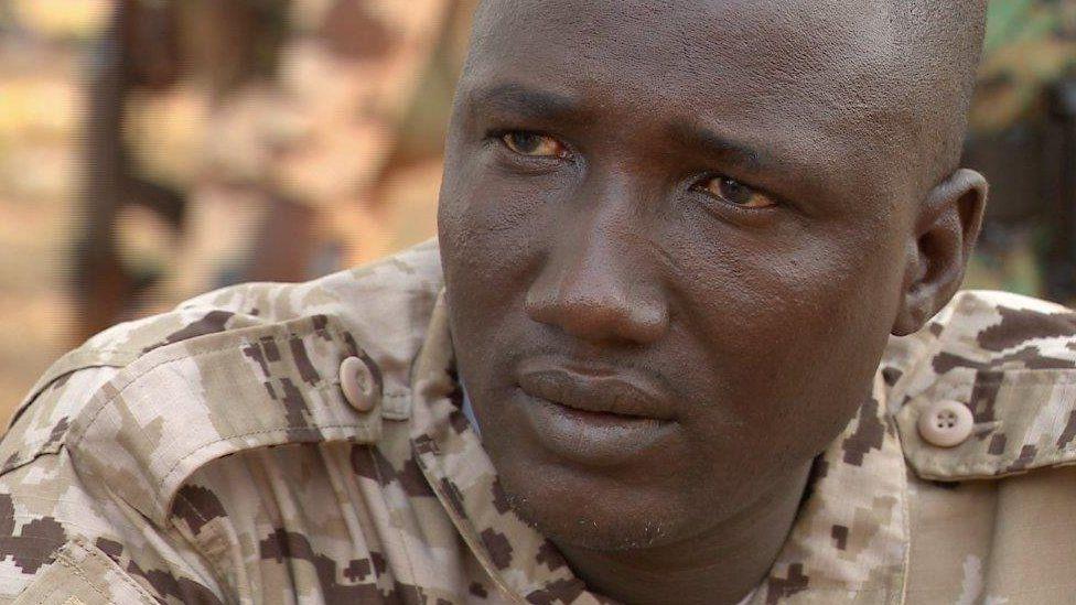 """General"" Ali Darassa, Muslim leader of the Union for Peace in Central Africa (UPC) militia"
