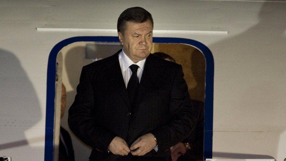 Former President of Ukraine, Viktor Yanukovych.