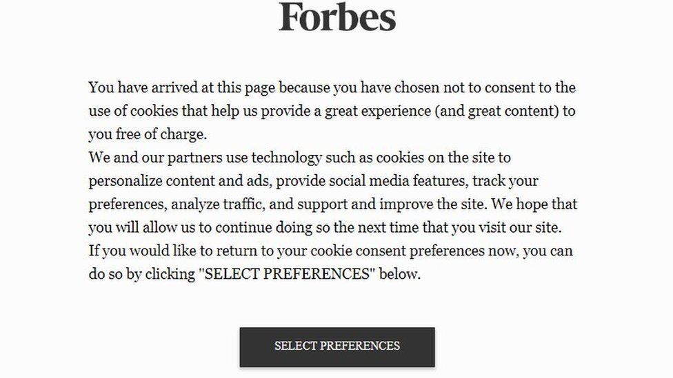 Forbes notice