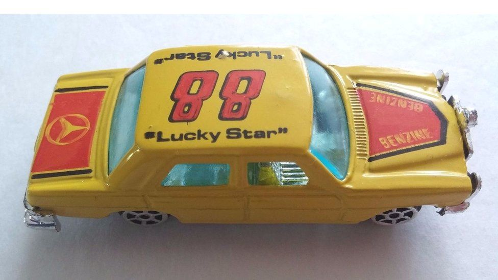 Toy car similar to the one found in Kos