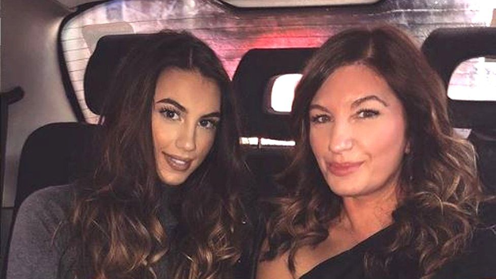 Karren Brady and her daughter, Sophia Peschisolido