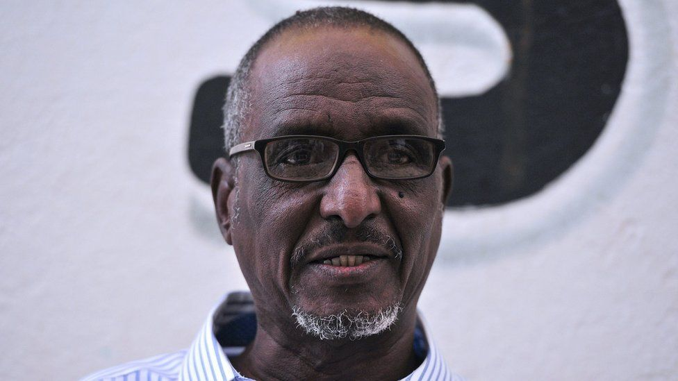 Djibouti's presidential candidate for the opposition Union for National Salvation (USN), Omar Elmi Khaireh