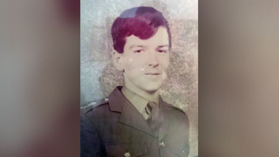 Guardsman Peter Edwards, who died aged 19 during the Falklands conflict