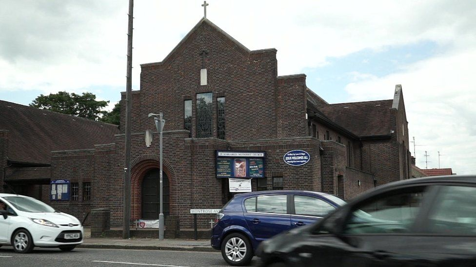 The church hall used in Luton for extremist meetings