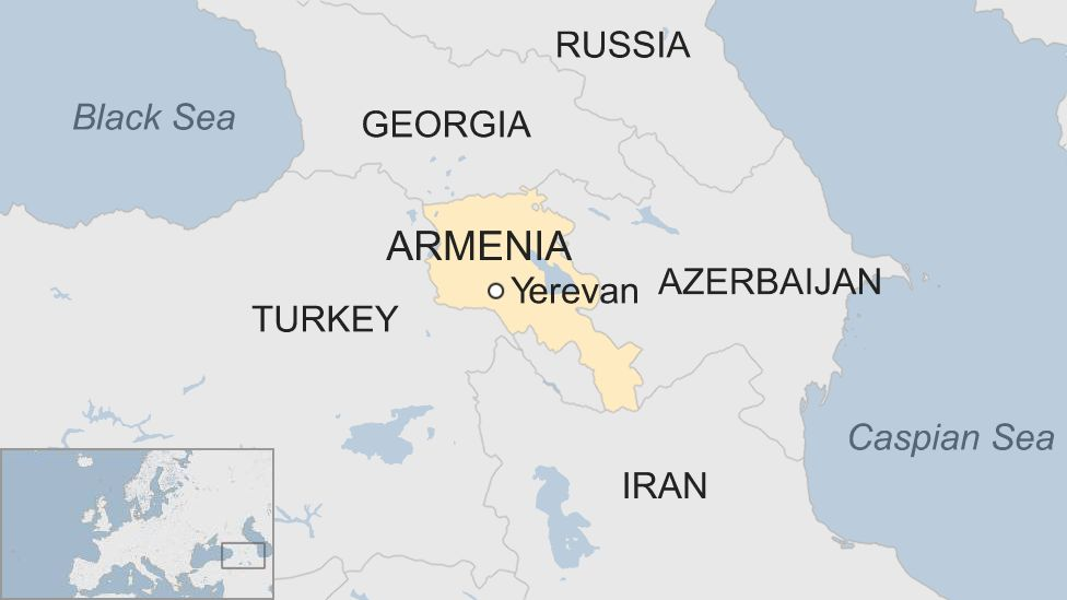 Armenia unrest: Protesters rally after leader detained - BBC News on tashkent world map, monaco world map, tallinn world map, almaty world map, zagreb world map, liechtenstien world map, andorra world map, bishkek world map, karachi world map, astana world map, vatican city world map, kiev world map, sierra leone world map, vilnius world map, podgorica world map, dushanbe world map, kazan world map, riga world map, odessa world map, malta world map,