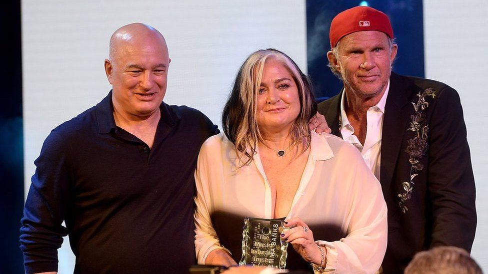 Emma Banks is given the prestigious 2018 Music Industry Trusts Award