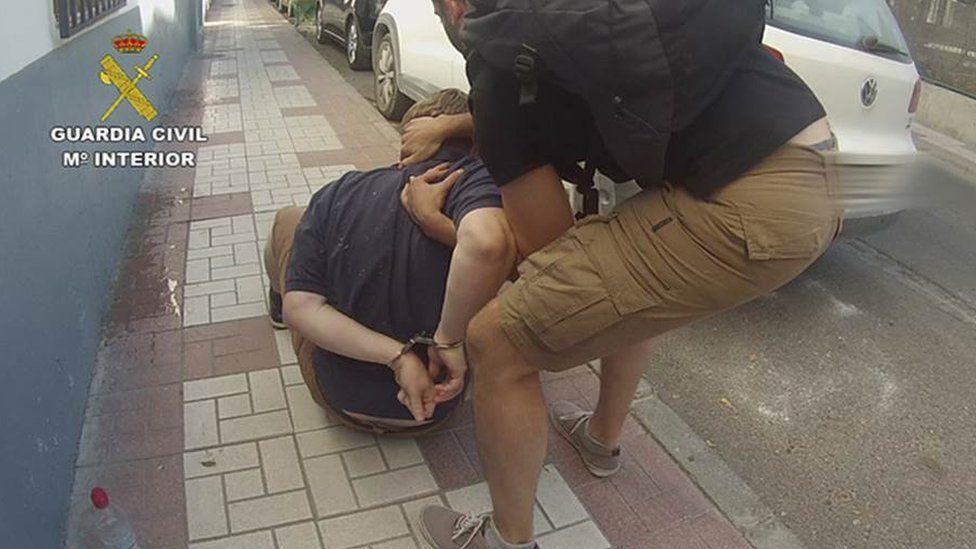 David Daniel Hayes at point of arrest