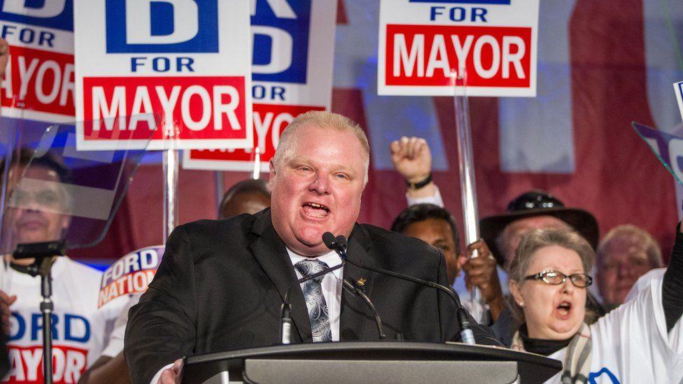 Late Toronto mayor Rob Ford
