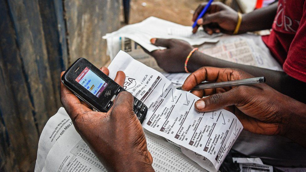 Betting by mobile phone in Uganda