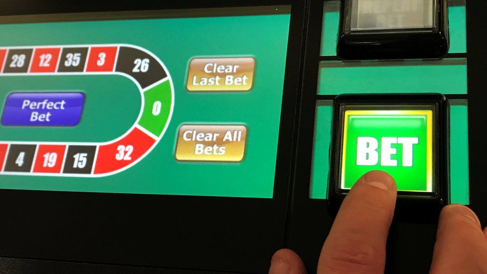 Fixed-odds betting terminals screen