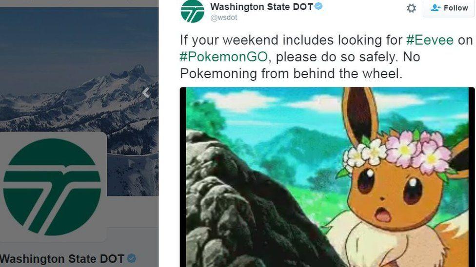 Pokemon tweet