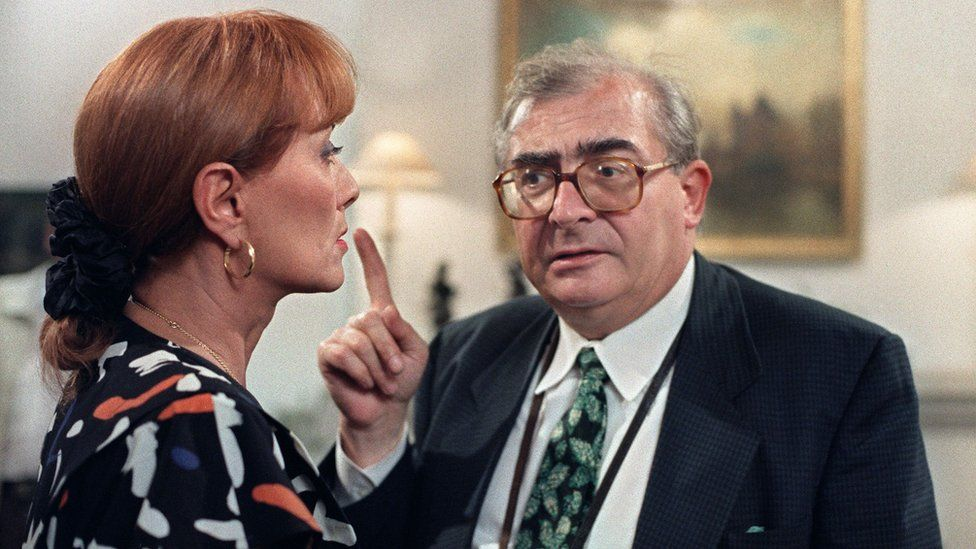 Stephane Audran and Claude Chabrol