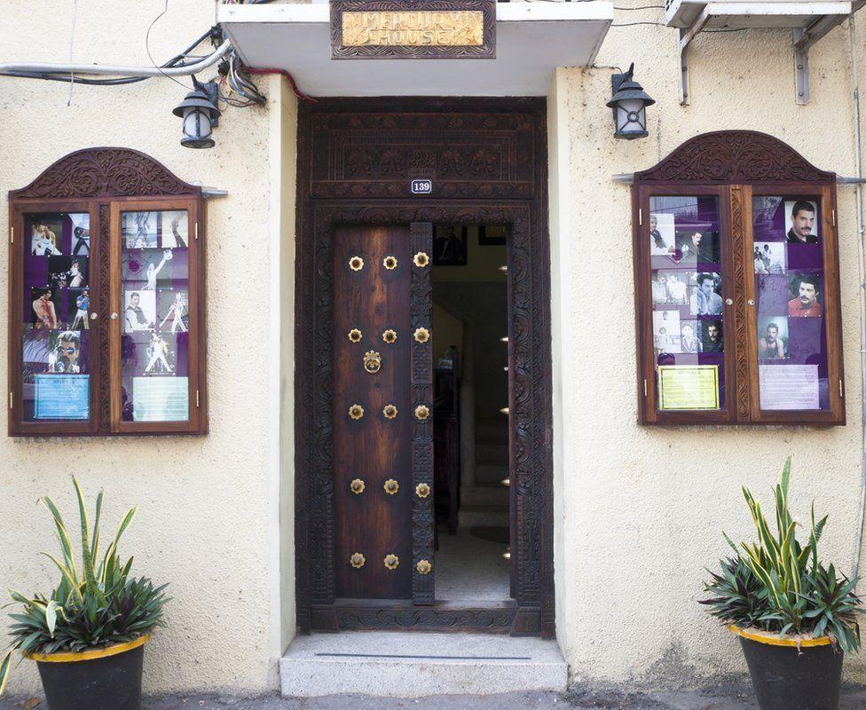 Freddie Mercury's house in Stone Town, the old part of Zanzibar City, capital of Zanzibar, Tanzania