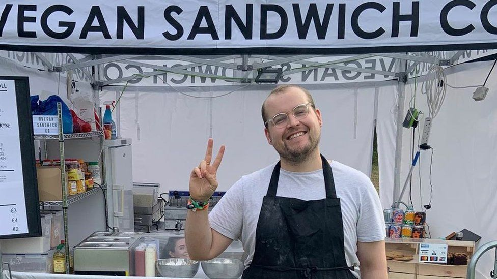Sam Pearson of Vegan Sandwich Co