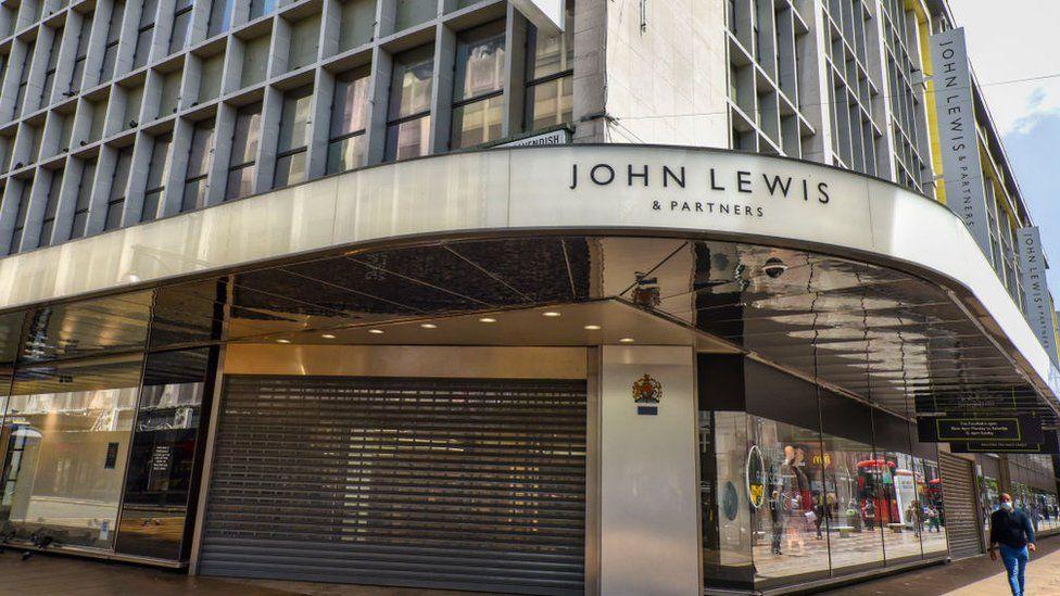 The John Lewis store on Oxford Street, London