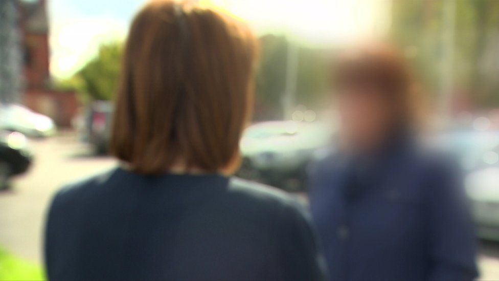 Mother speaking anonymously to BBC Newsline