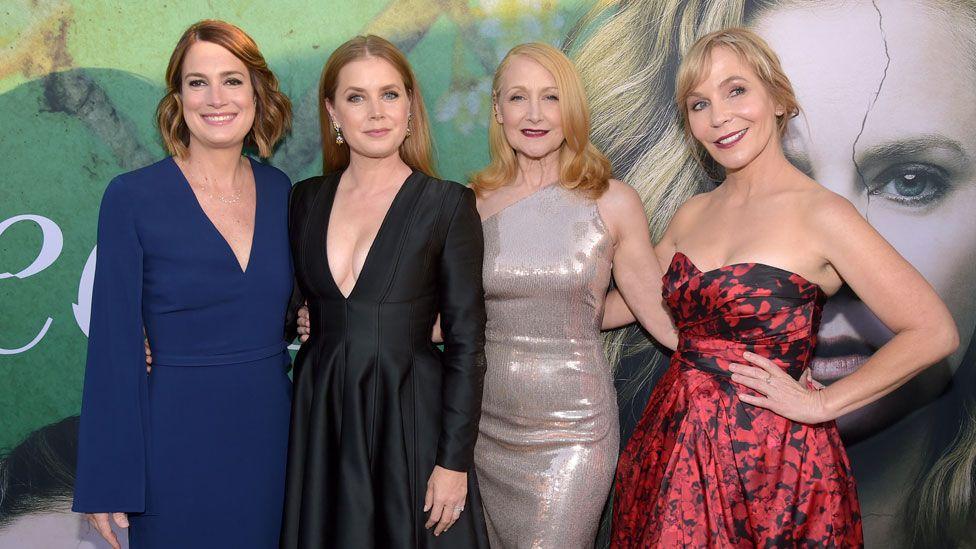Gillian Flynn, Amy Adams, Patricia Clarkson and Marti Noxon