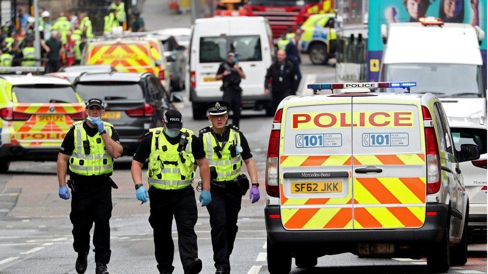 Police at West George Street