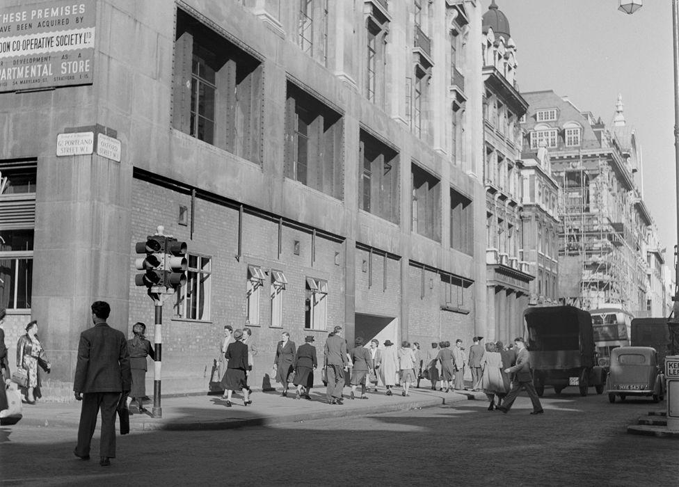 200 Oxford Street in 1949