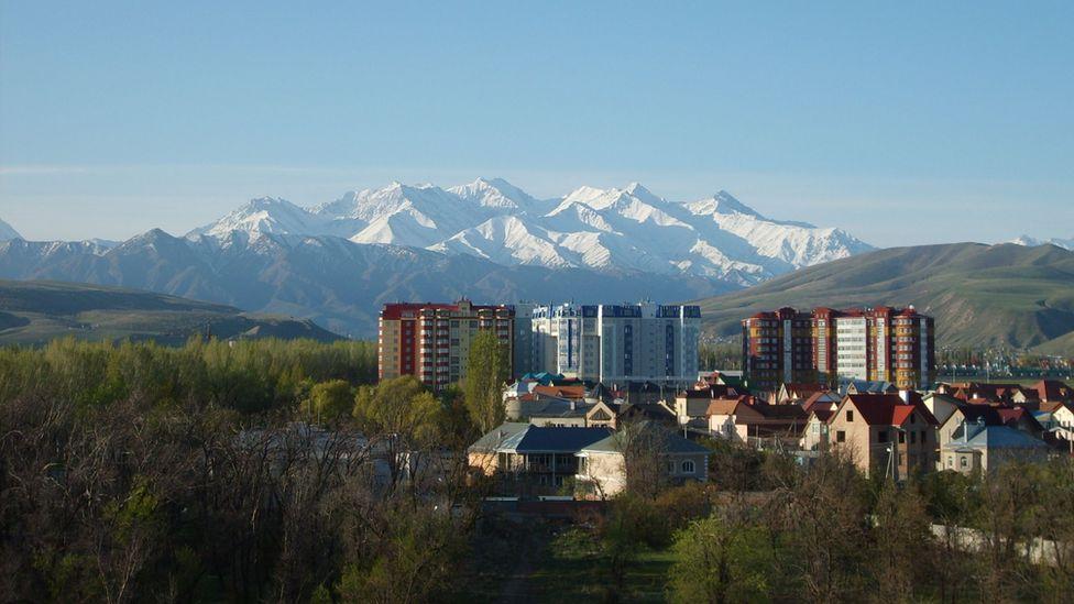 Kyrgyz capital Bishkek, 2008