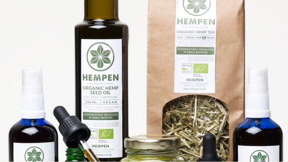 The company sells a number of hemp related products
