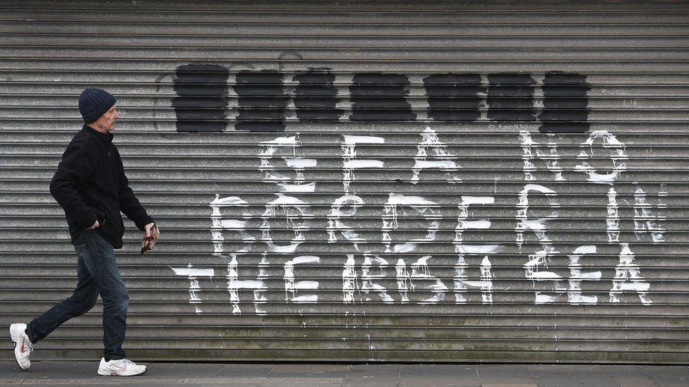 Loyalist graffitti