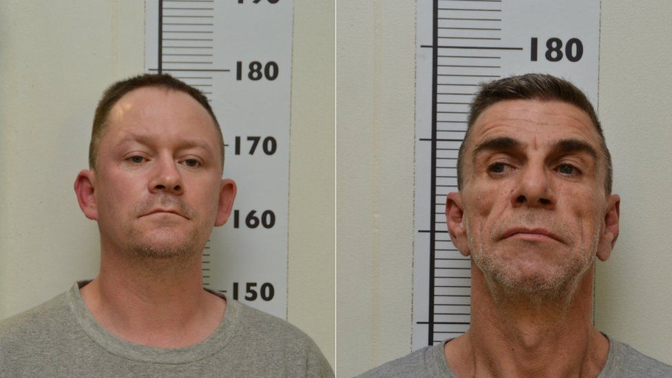 Stephen Unwin (left) and William McFall