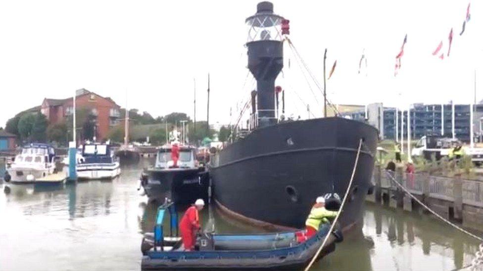 Spurn lightship in Hull