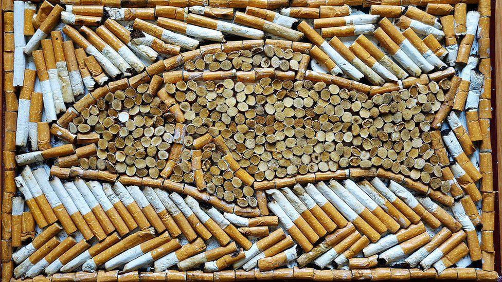 Cigarette art
