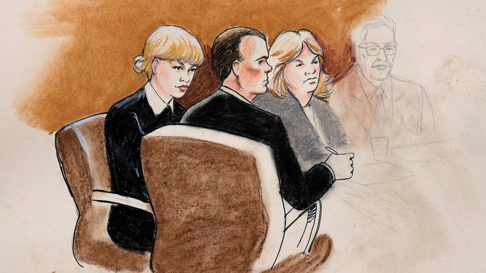 Taylor Swift in court