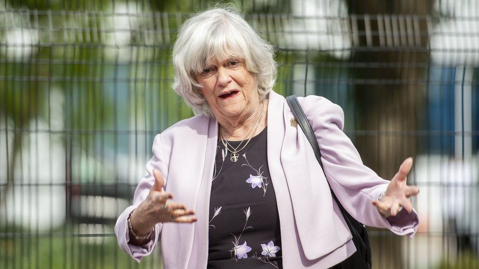 Ann Widdecombe appearance cancelled over gay science comments