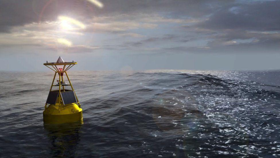buoy, tsunami, palu