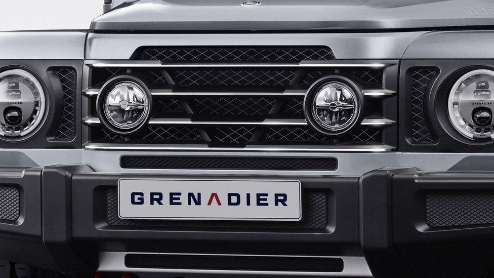 Grenadier 4x4 logo