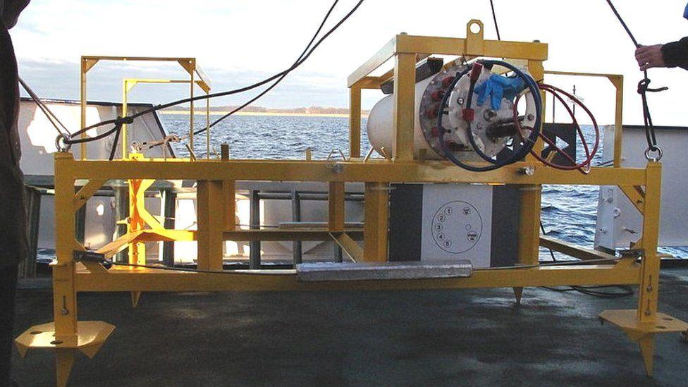 Sonda alemã de quase 800 kg desaparece do fundo do mar