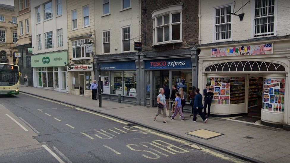 Tesco Express on Low Ousegate