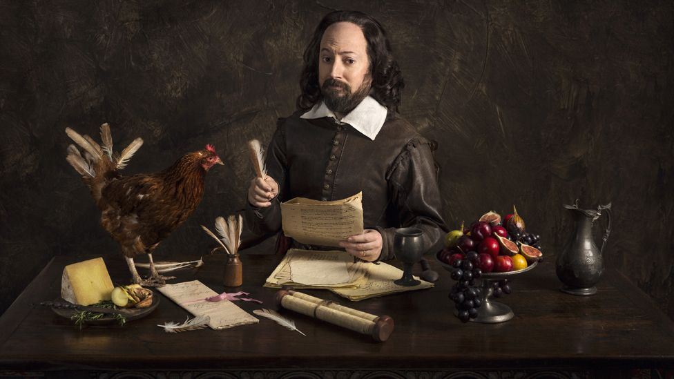 David Mitchell as Shakespeare in forthcoming BBC sitcom Upstart Crow