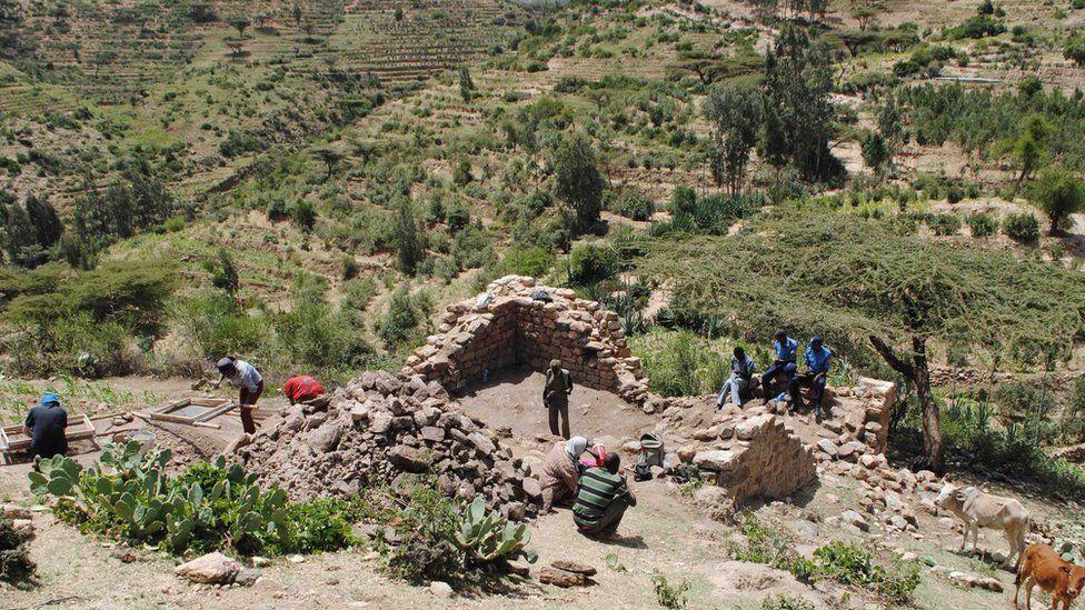 Harlaa mosque view Ethiopia