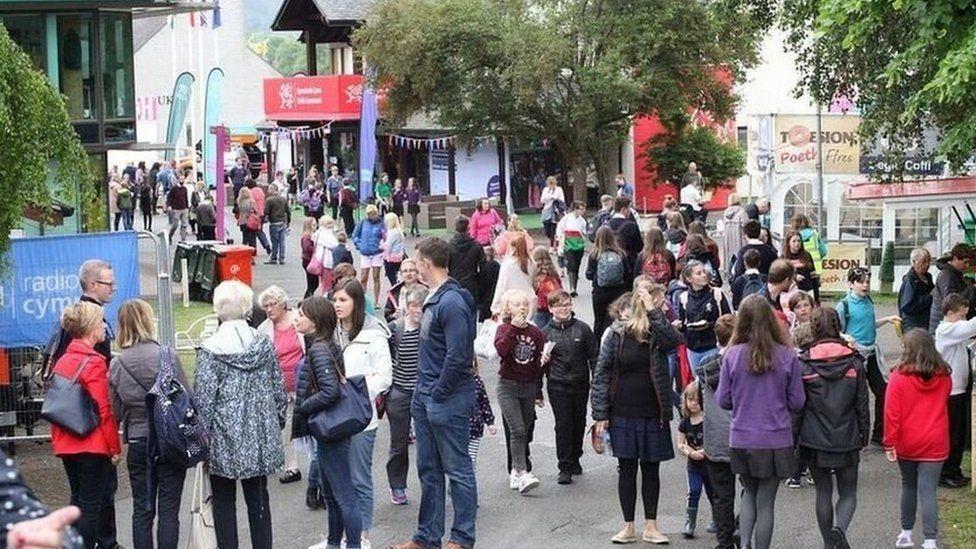 Maes Eisteddfod yr Urdd 2018
