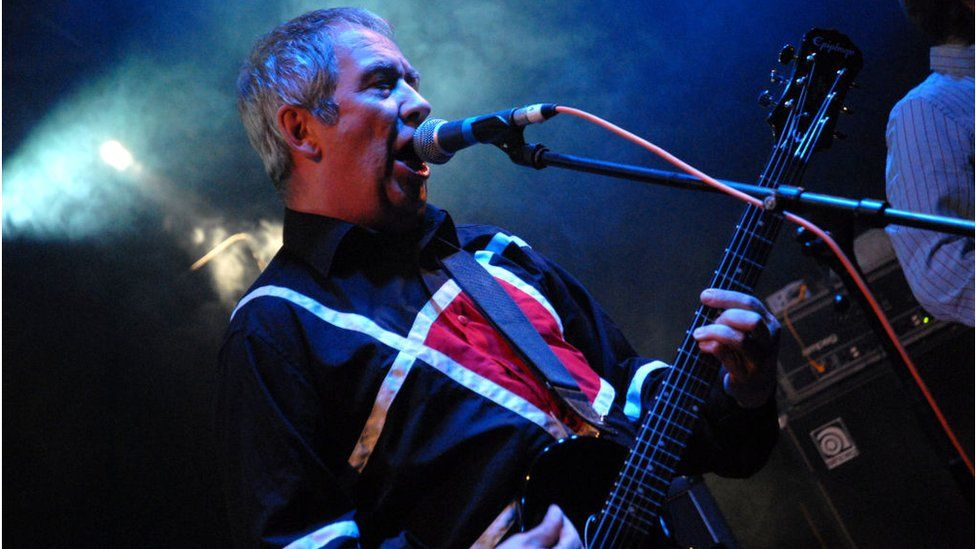 Pete Shelley performs at Nozstock