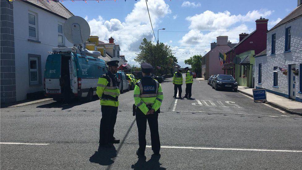 Gardaí maintain high presence in the town