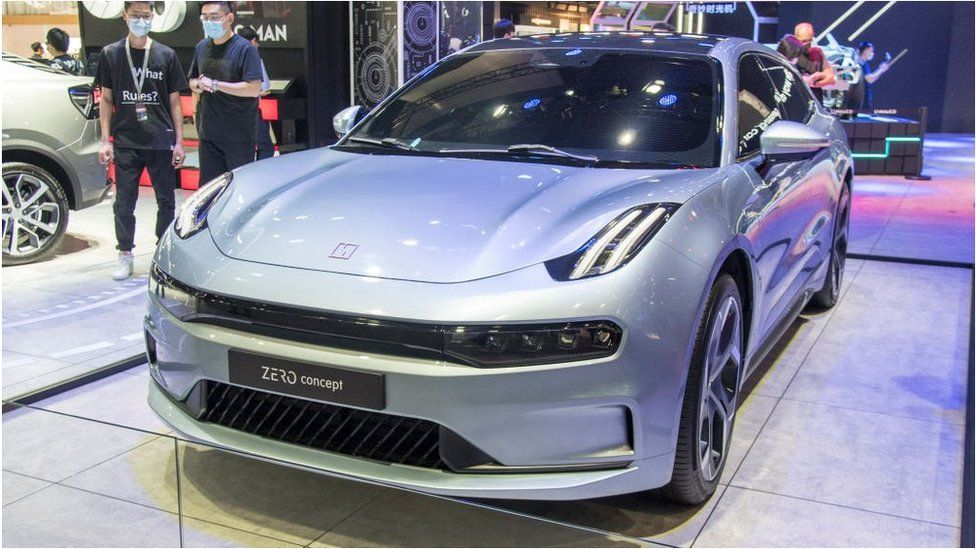 "The first Zeekr model will be based on the ""Zero Concept"" car unveiled last September by Geely's Lynk & Co."