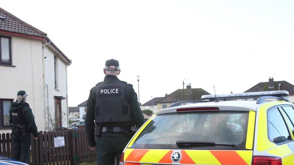 A man is in hospital following a shooting in the Churchlands Road area of Coleraine, County Londonderry