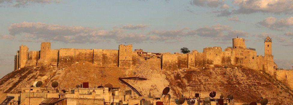 Aleppo citadel (5 July 2016)