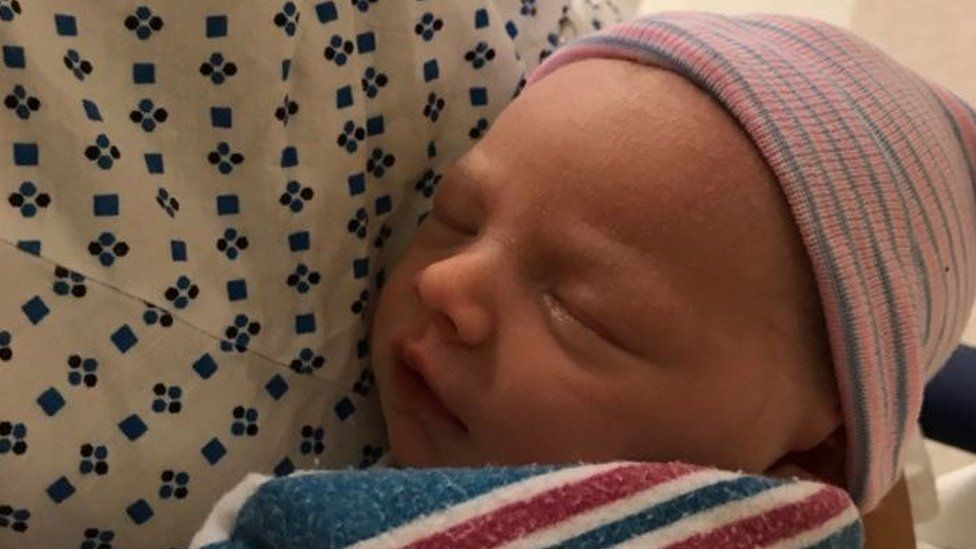 """""""@LaraLeaTrump and I are excited to announce the birth of our son, Eric """"Luke"""" Trump at 8:50 this morning."""""""