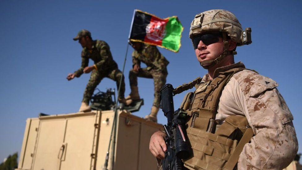 US troop in Afghanistan