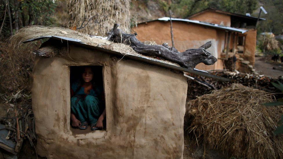 Nepal man arrested over death of woman in 'menstruation hut'