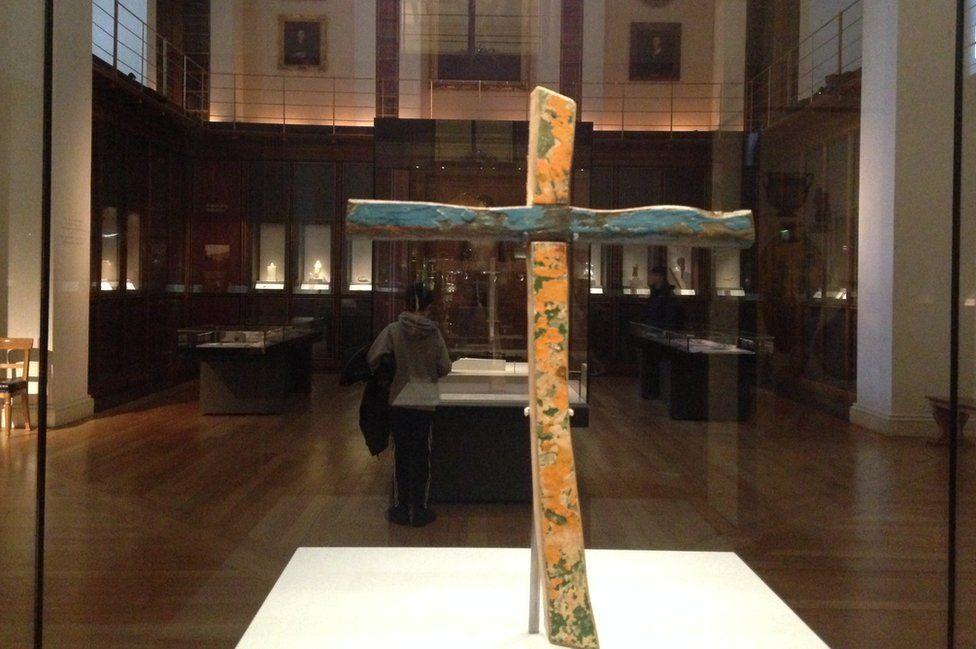 Lampedusa cross in British Museum