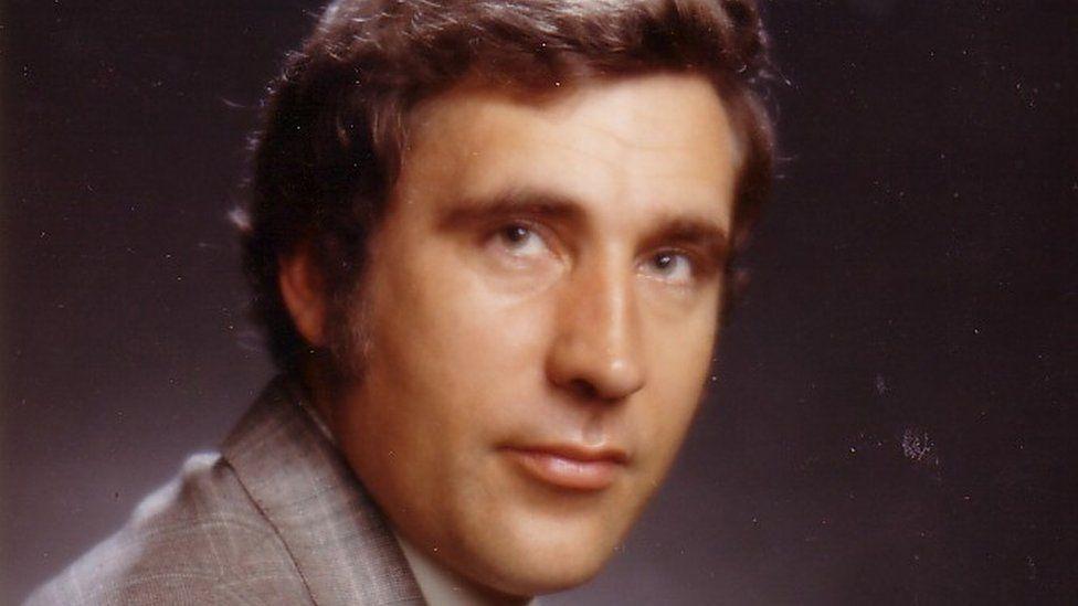 John Timpson in the 1970s